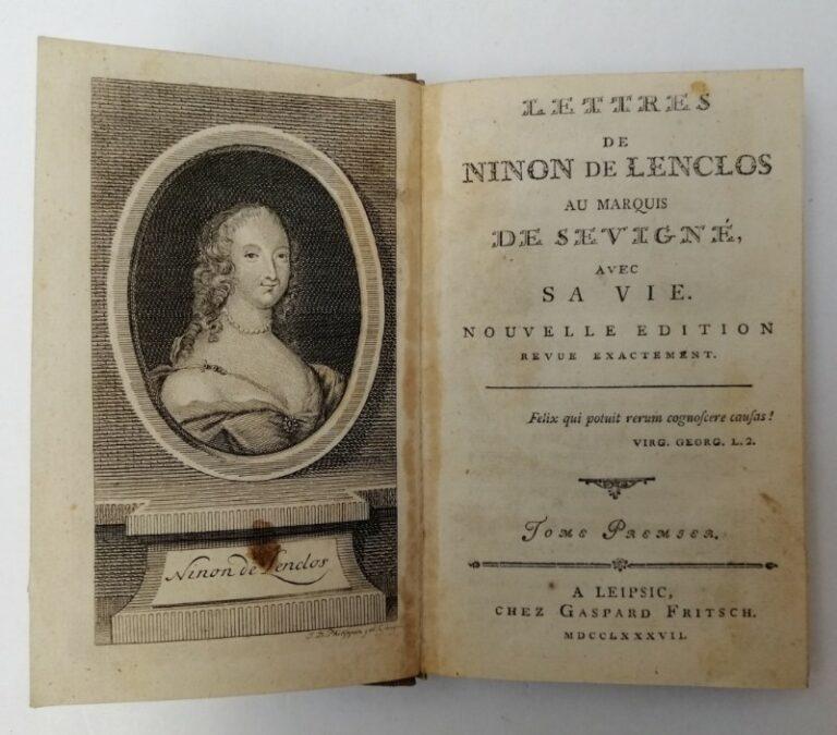 | Lettres de Ninon de Lenclos au Marquis de Sevigné