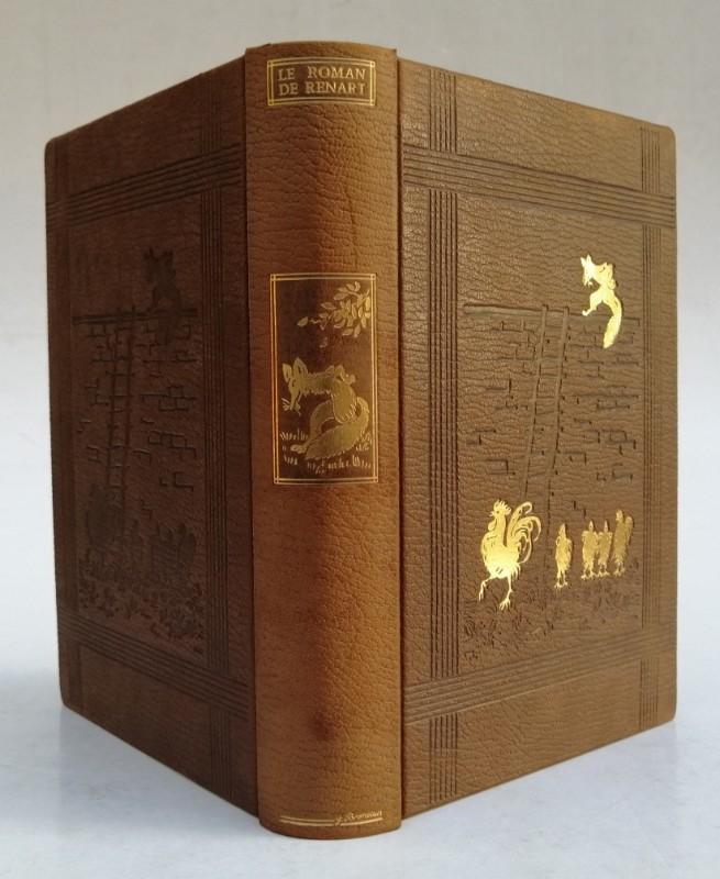   Le Roman de Renart. Texte établi d'après les manuscrits conservés à la Bibliothèque Nationale de Paris. Décors réalisés par les artistes de Saint-Georges
