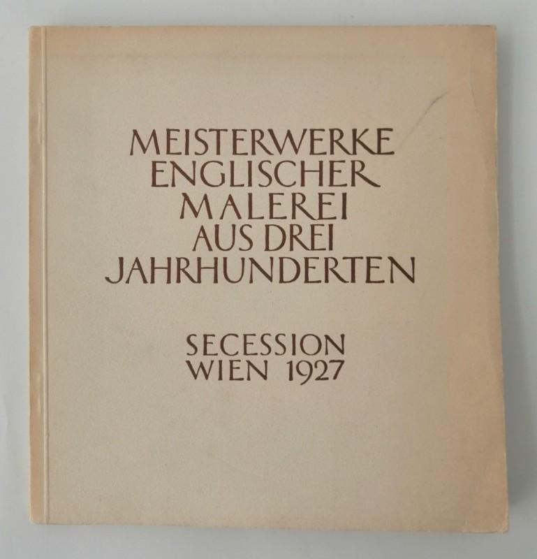 | Meisterwerke englischer Malerei aus drei Jahrhunderten. Mit zahlr s/w-Abb.