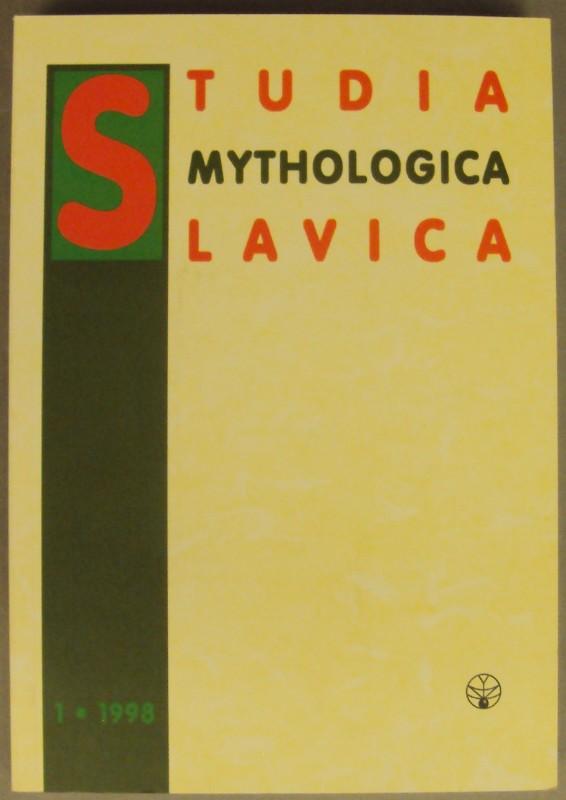 | Studia mythologica Slavica I.