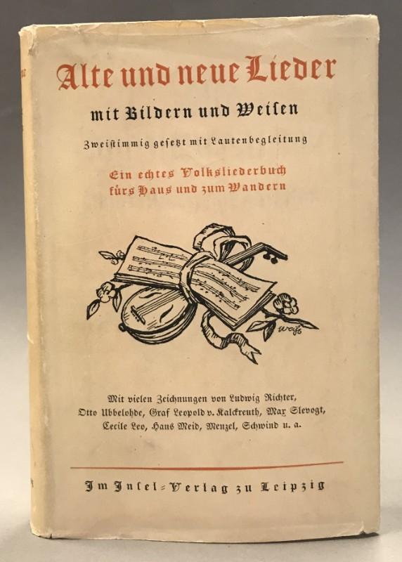 | Alte und neue Lieder mit Bildern und Weisen. Bilder von Ludwig Richter.