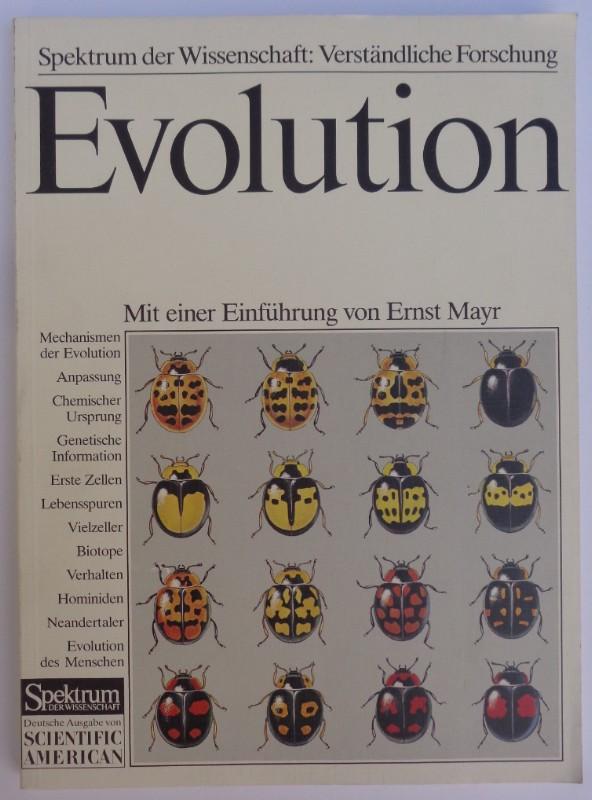 | Evolution. Die Entwicklung von den ersten Lebensspuren bis zum Menschen. Mit einer Einführung von Ernst Mayr. Mit zahlr. Abb.