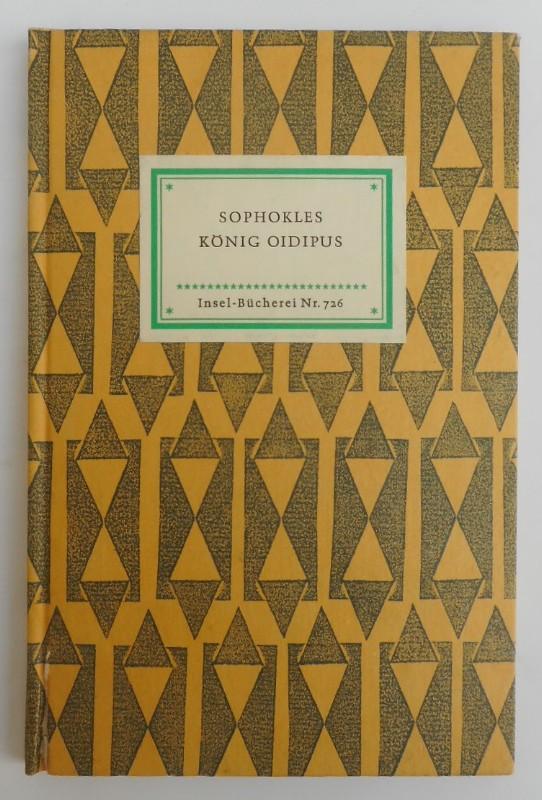 Sophokles König Oidipus. Eine Tragödie. Übertragen von Roman Woerner.