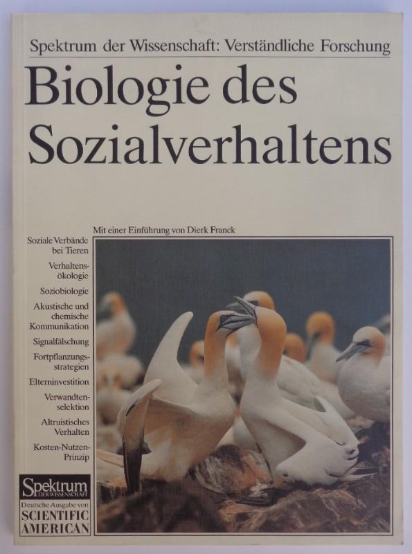 | Biologie des Sozialverhaltens. Kommunikation
