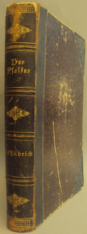 | Der Psalter. Allioli's Uebersetzung. Mit Original Zeichnungen von Joseph