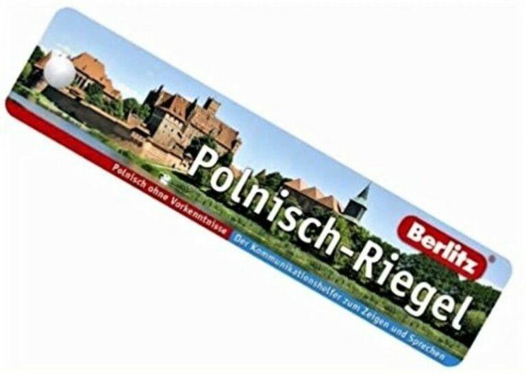   Berlitz Polnisch-Riegel. Polnisch ohne Vorkenntnisse. Der Kommunikationshelfer zum Zeigen und Sprechen