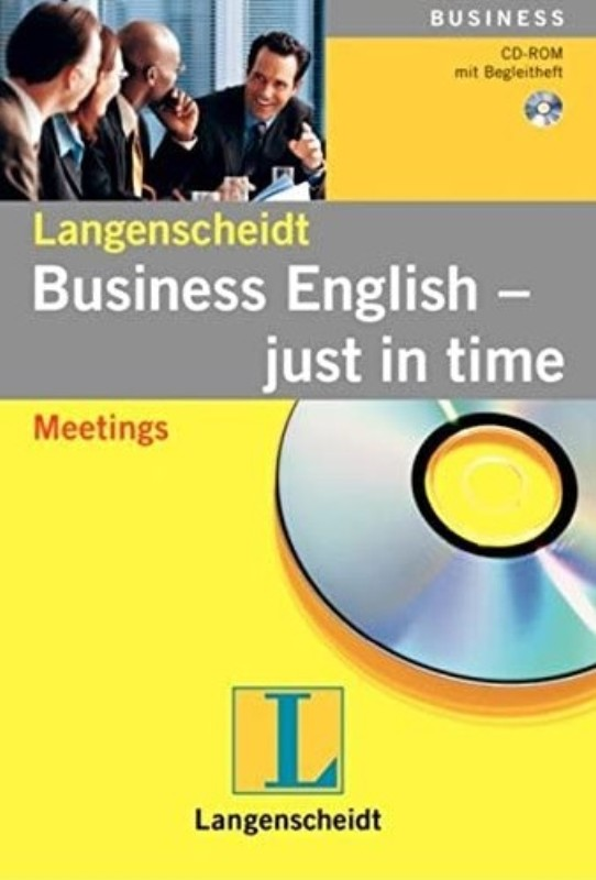 | Business English - just in time: Meetings. CD-ROM für PC mit Begleitheft