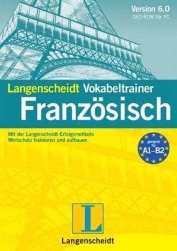 | Langenscheidt Vokabeltrainer Französisch. Mit der Langenscheidt-Erfolgsmethode Wortschatz trainieren und aufbauen. Von A1 für Anfänger bis B2 für Fortgeschrittene. Version 5.0