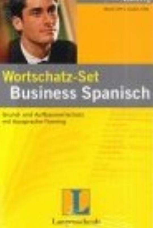 | Wortschatz-Set Business Spanisch. Grund- und Aufbauwortschatz mit Aussprache-Training. Mit 2 Audio-Kassetten