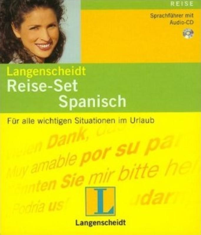 Langenscheidt Reise-Set Spanisch. Sprachführer mit Audio-CD
