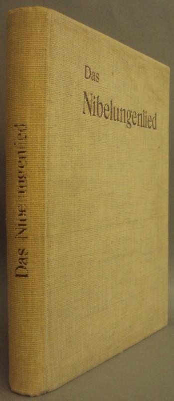   Das Nibelungenlied. Uebersetzt von Gotthard O.Marbach. Mit Holzschnitten nach Originalzeichnungen v. Eduard Bendemann u. Julius Hübner