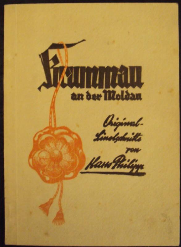 | Krummau an der Moldau in Linolschnitten von Hans Philipp.