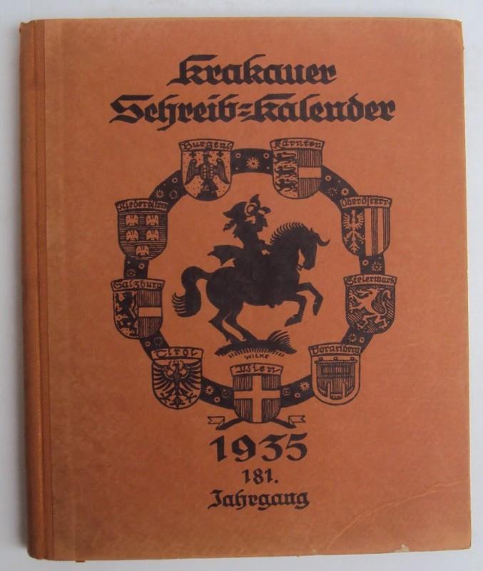 | Krakauer Schreib-Kalender 1935. 181 Jg.