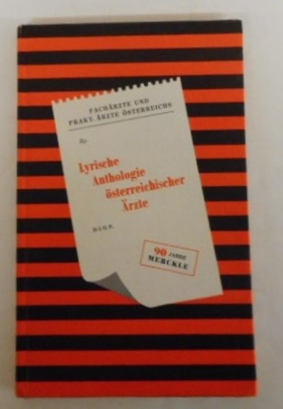 | Lyrische Anthologie österreichischer Arzte