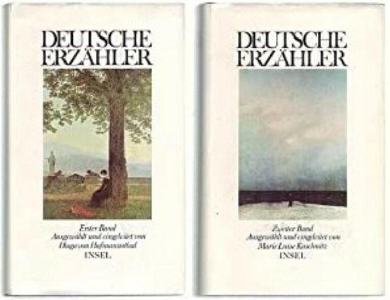   Deutsche Erzähler. 2 Bände.