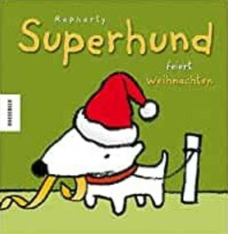 Rapharty Superhund feiert Weihnachten