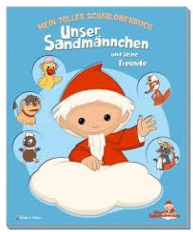 | Mein tolles Schablonenbuch: Unser Sandmännchen und seine Freunde