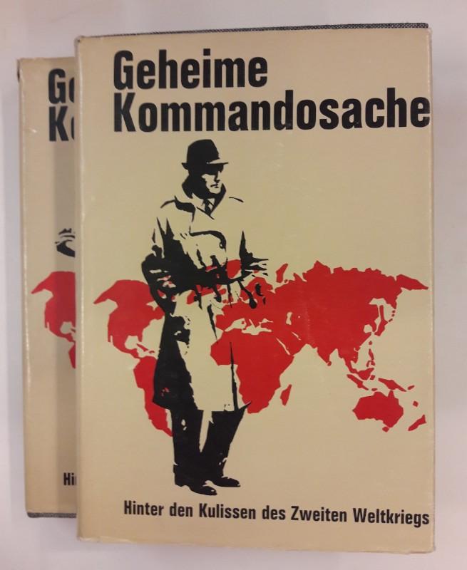 div. Autoren Geheime Kommandosache. Hinter den Kulissendes Zweiten Weltkriegs. 2 Bde. Mit zahlr. s/w Abb.
