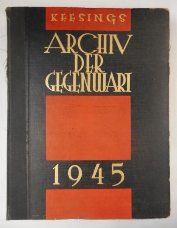 | Keesing's Archiv der Gegenwart. XV. Jahrgang. 1945.