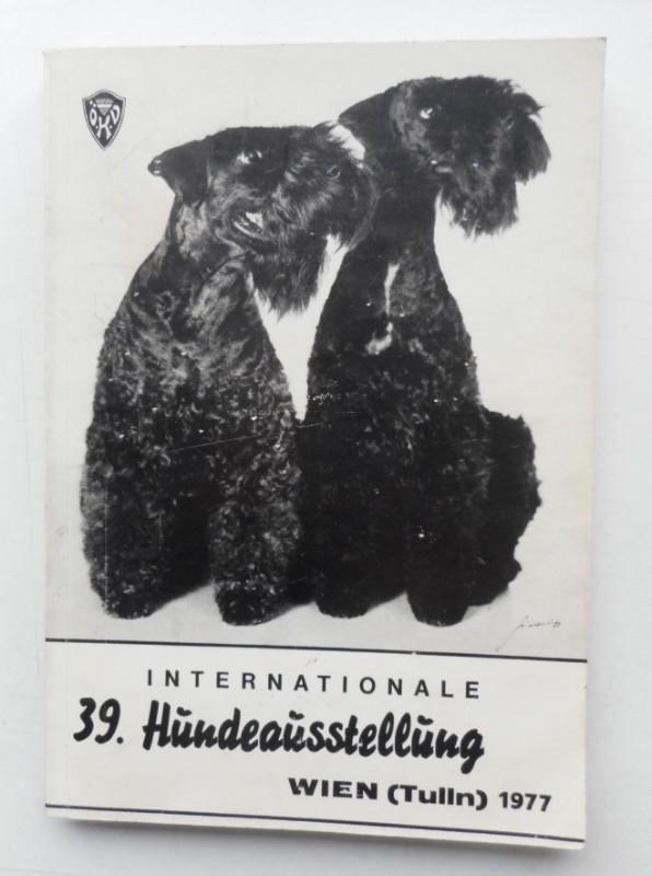 | Führer durch die vom Österreichischen Kynologien-Verband veranstaltete Internationale 39. Hundeausstellung. Zuchtschau aller Rassen.