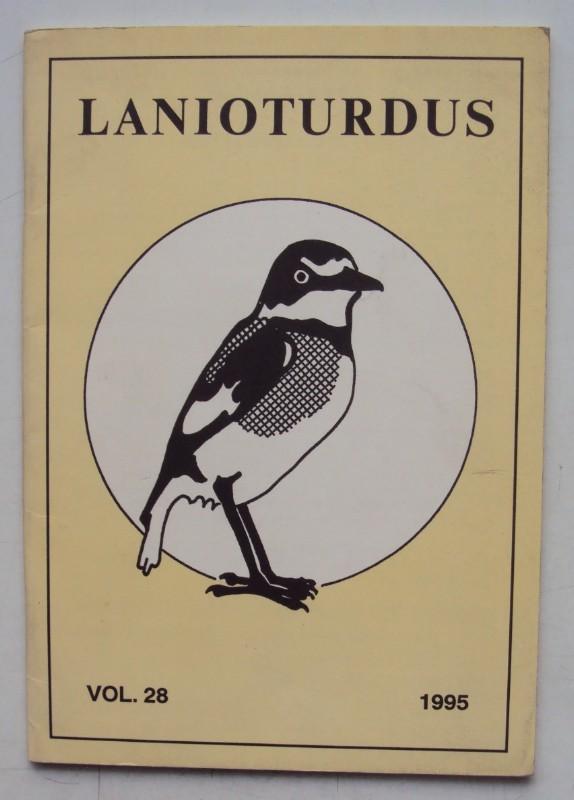 | Lanioturdus. Vol. 28.