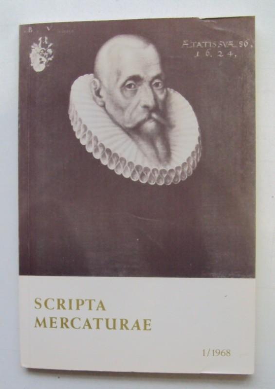 | Scripta Mercaturae. Halbjahresveröffentlichung von Urkunden und Abhandlungen zur Geschichte des Handels und der Weltwirtschaft 1/1968.