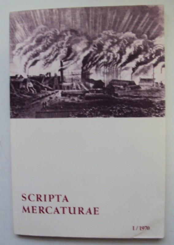 | Scripta Mercaturae. Halbjahresveröffentlichung von Urkunden und Abhandlungen zur Geschichte des Handels und der Weltwirtschaft 1/1970.