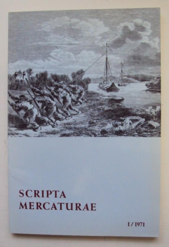 | Scripta Mercaturae. Halbjahresveröffentlichung von Urkunden und Abhandlungen zur Geschichte des Handels und der Weltwirtschaft 1/1971.