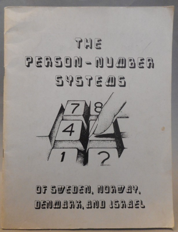 | The Person-Number Systems of Sweden