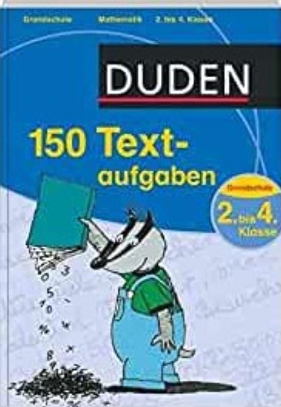 | 150 Textaufgaben. 2. bis 4. Klasse