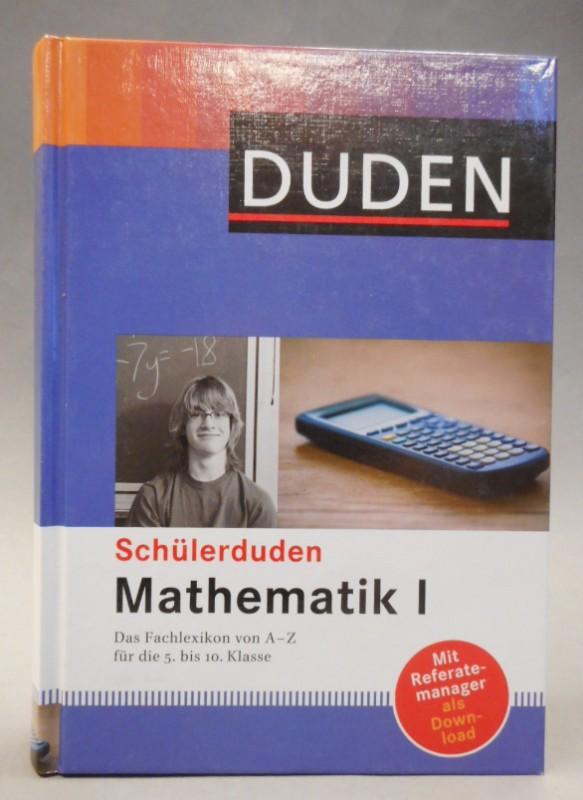 | Schülerduden Mathematik I