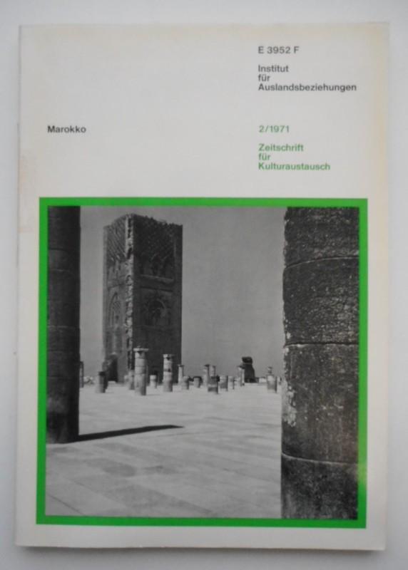Zeitschrift für Kulturaustausch. H. 2: Marokko.