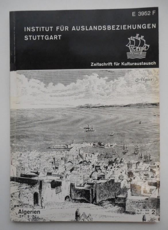 Zeitschrift für Kulturaustausch. Jg. 20