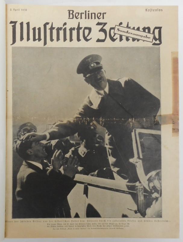 | Berliner Illustrierte Zeitung. 63 Hefte zwischen 1938 und 1943. Mit Sonderausgabe vom 2. April 1938.
