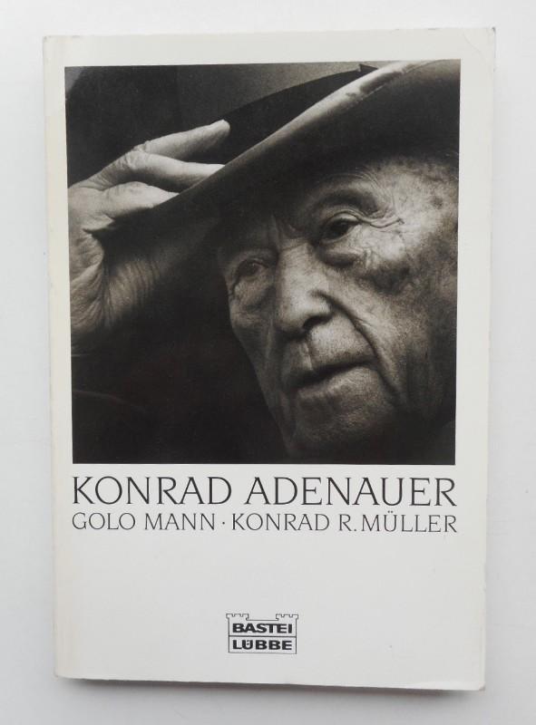 | Konrad Adenauer. Fotografiert von Konrad R. Müller. Mit einem Essay von Golo Mann.