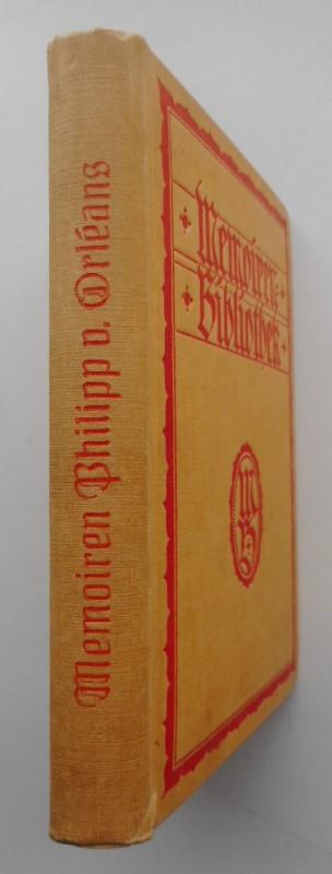 Memoiren aus der Zeit der Regentschaft Philipps von Orléons. Deutsch von Paul Bornstein.