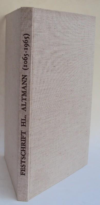 Abtei Göttweig (Hg.) Der heilige Altmann - Bischof von Passau. Sein Leben und sein Werk. Festschrift zur 900-Jahr-Feier 1965. Mit Front u. 113 Abb.