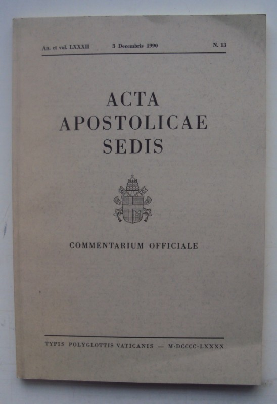Acta Acta Ioannis Pauli PP. II. Epistula Apostolica.
