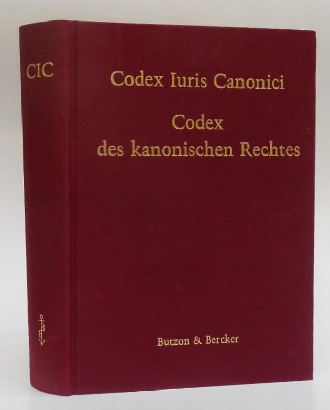 | Codex iuris canonici. Auctoritate Ioannis Pauli pp. II promulgatus / Codex des kanonischen Rectes. Lateinisch-deutsche Ausgabe. Mit Sachverzeichnis.
