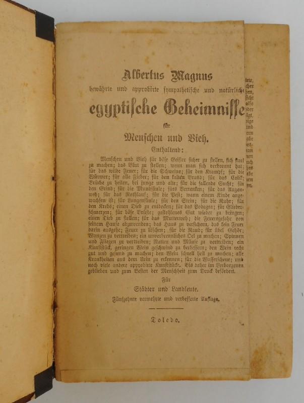 Albertus Mgnus Albertus Magnus bewährte und approbirte