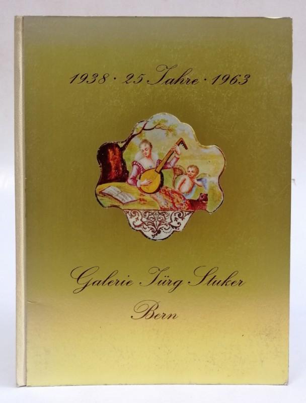   1938-1963 - 25 Jahre Galerie Jürg Stuker. Festschrift mit zahlr. Abb.