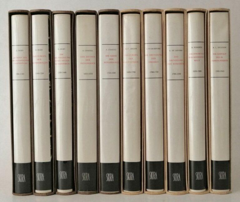 | Kunst Ideen Geschichte. 10 Bände. Mit jew. 60 farb. u. 60 s/w-Wiedergaben