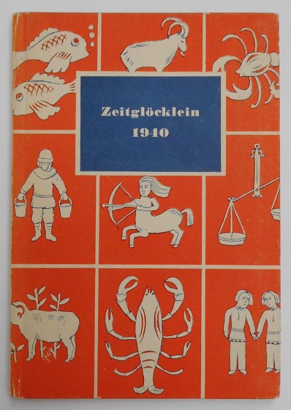 | Zeitglöcklein. Ein Kalender für das Jahr 1940 mit den in Nürnberg bei Christoph Weigel entstandenen Monatsbildern von Caspar Luyken. Eingeleitet von Georg Gustav Wießner.