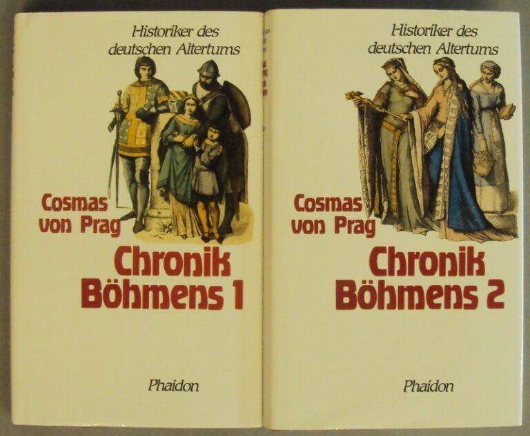 Cosmas von Prag Die Chronik Böhmens. 2 Bände. In Anlehnung an die Übertragung von Georg Grandaur neu übersetzt und eingeleitet von Franz Huf. Hg. v. Alexander Heine.