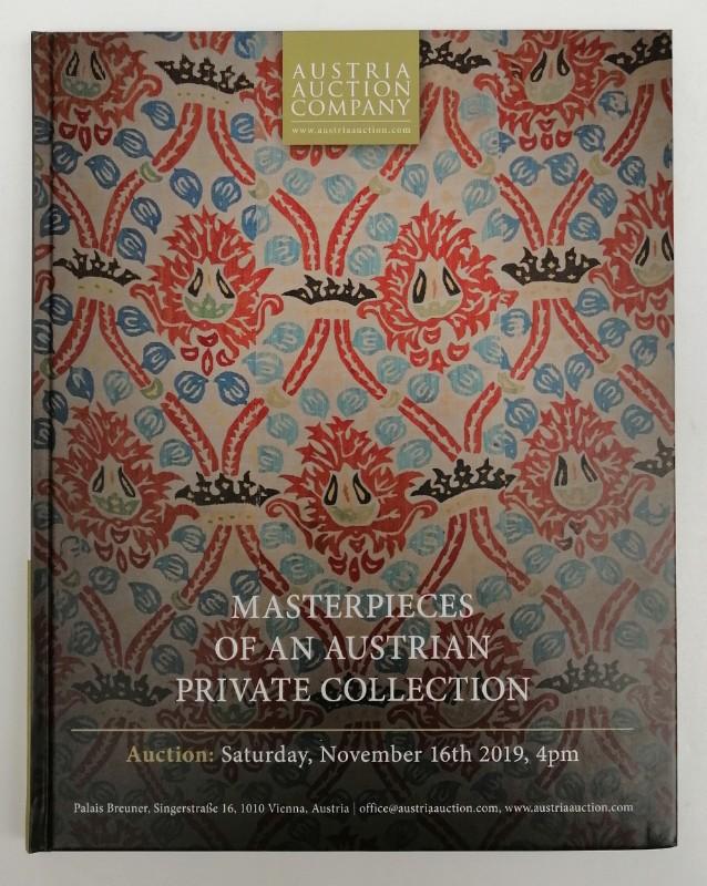 | Masterpieces of an Austrian Private Collection / Meisterstücke einer österreichischen Privatsammlung. Auktionskatalog mit zahlr. Abb.