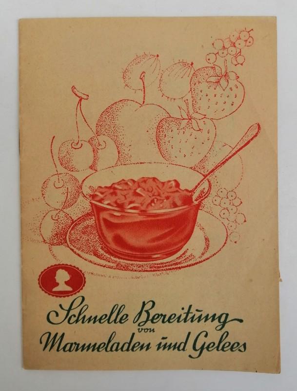 | Schnelle Bereitung von Marmeladen und Gelees.