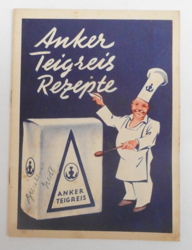 Anker Teigreis Küchenchef Franz Ruhm beschreibt Rezepturen mit Anker-Teigreis.