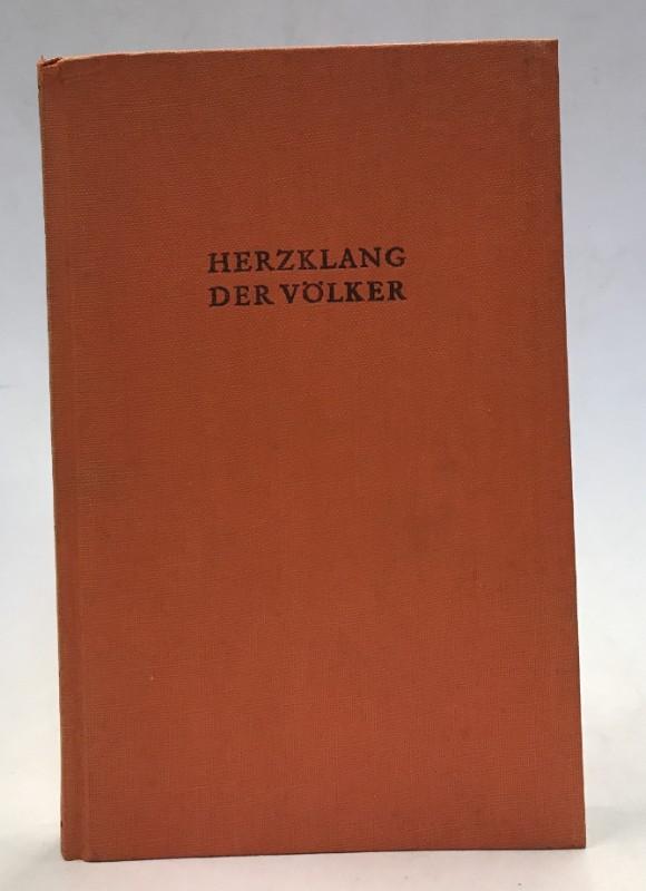   Herzklang der Völker. Lateinische Dichtungen des Mittelalters. Deutsche Nachdichtung von Georg Hauser.