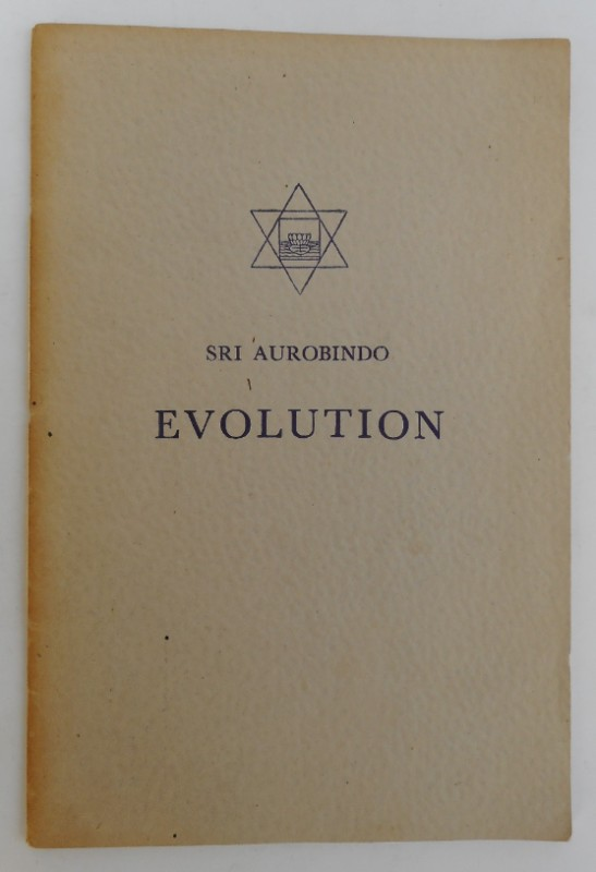 Sri Aurobindo Evolution (Evolution - The Inconscient - Materialism).
