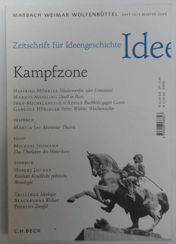 Zeitschrift für Ideengeschichte IDEE Kampfzone